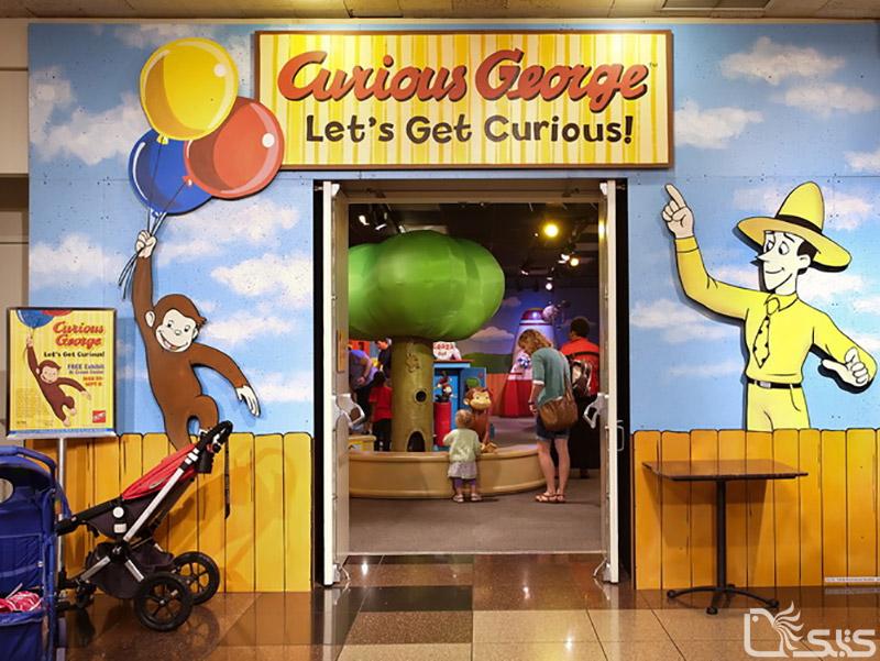 موزه جورج میمون بازیگوش