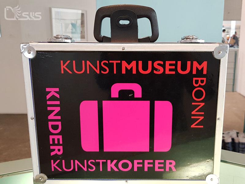 چمدان هنر برای بچهها در موزه