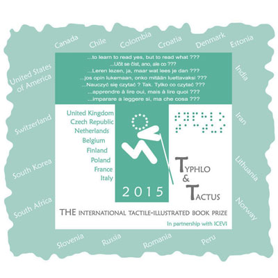 جایزه کتاب های تصویری لمسی Typhlo & Tactus