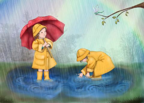 باران - پروین دولت آبادی