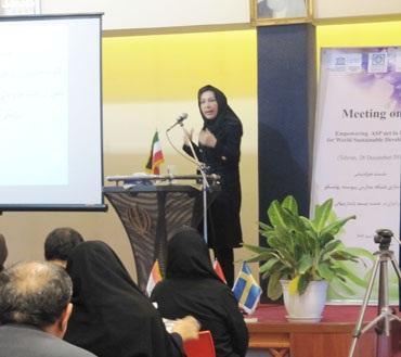 گزارش برگزاری نشست هماندیشی توانمندسازی شبکه مدارس پیوسته به یونسکو در ایران در