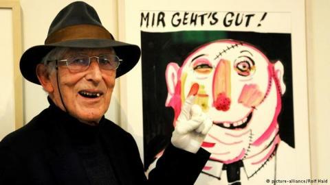 تومی اونگرر تصویرگر بهنام فرانسوی و برنده جایزه اندرسن درگذشت