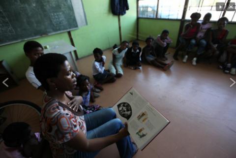 پریسا، پروژه مطالعه ی آموزش جایگزین در آفریقای جنوبی