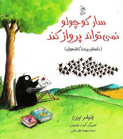 کتاب کودک و نوجوان: سار کوچولو نمیتواند پرواز کند