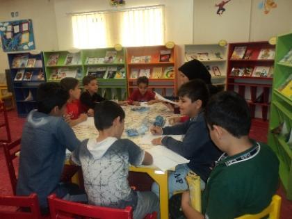 کتابخانه کودک شهید بهشتی تاکستان