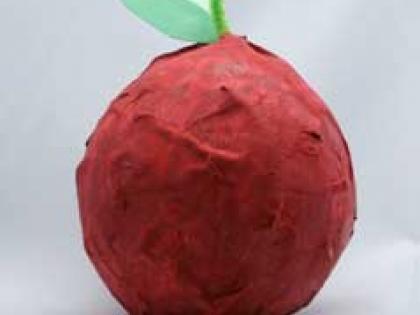 برای آموزگارتان یک سیب سرخ بسازید!