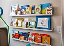 کتابخانه ویژه کودک تان را بسازید!