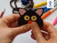 ساخت کاردستی «گربه» توسط سارا نامداری