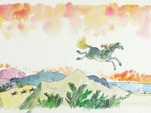 اسب ابری