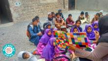 گزارش پیشرفت کودکان بازمانده از تحصیل جهادآباد