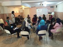 کارگاه های کمکهای اولیه به کودکان در بحران برگزار شد