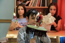 موزه سیار عروسک و اسباببازی میهمان جشنواره فولکلور ارمنستان