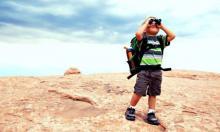 ابتکار کتابخانهای در آمریکا برای تشویق کودکان به وقتگذرانی در طبیعت