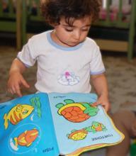کتاب های تصویری  از نوزادی تا سه سالگی