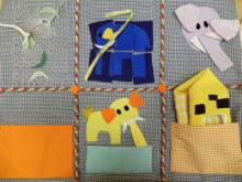 کتاب های لمسی پارچه ای بسازیم!