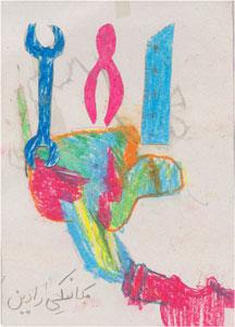 قصه گویی و نقاشی درباره حرفه های مختلف
