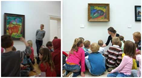 ۱۰ ماه تجربه نزدیک از هنر و آفرینش در موزه