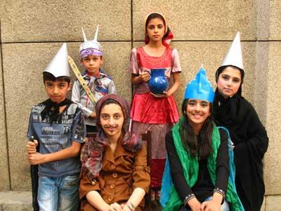 شاهنامه خوانی و اجرای نمایش نوجوانان در تابستان ۹۱