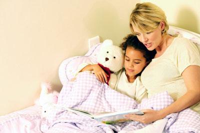 پیشنهادهایی برای مطالعه هنگام خواب با نوآموزها