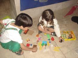 اتاق اسباب بازی در خانه کتابدار کودک و نوجوان