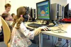 اینترنت، کتابخانه و کودکان و نوجوانان