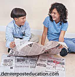 بچههای باهوش روزنامه میخوانند!