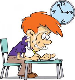 به کودک خود در کم کردن اضطراب امتحان کمک کنید