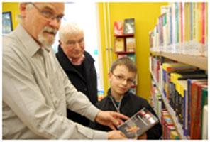 باشگاه کتابخوانی برای پسران
