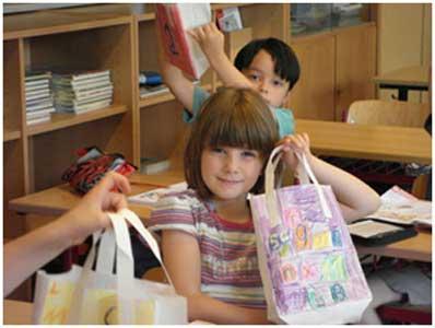 """""""پاکت خواندن""""، هدیه ای برای کلاس اولی ها"""