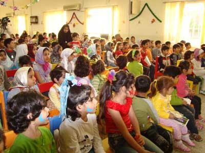 جشن کتاب و کودک در کتابخانه عمومی رودبند دزفول