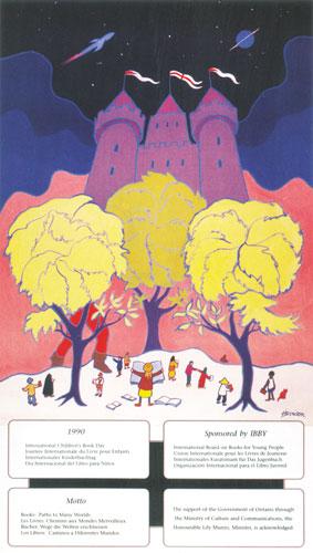 شعار و پیام روز جهانی کتاب کودک ۱۹۹۰/۱۳۶۹
