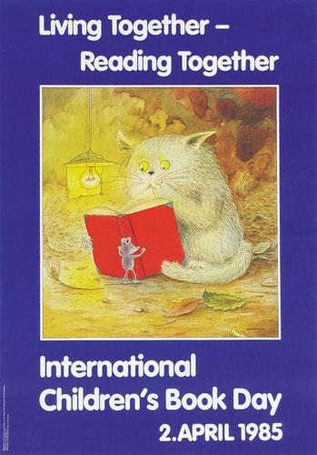 شعار و پیام روز جهانی کتاب کودک ۱۹۸۵/۱۳۶۴