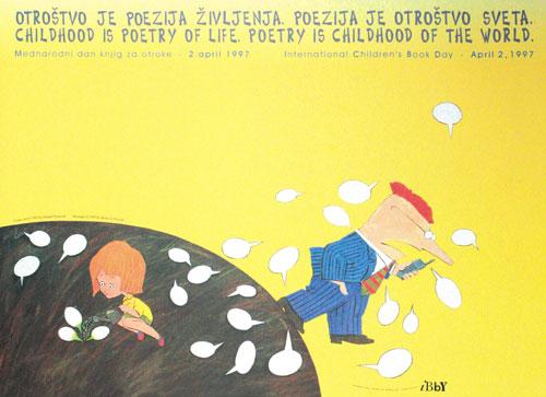 شعار و پیام روز جهانی کتاب کودک ۱۹۹۷/۱۳۷۶