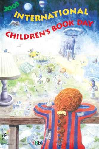 شعار و پیام روز جهانی کتاب کودک ۲۰۰۳/۱۳۸۲