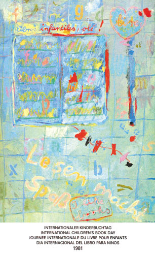 شعار و پیام روز جهانی کتاب کودک ۱۹۸۱/۱۳۶۰