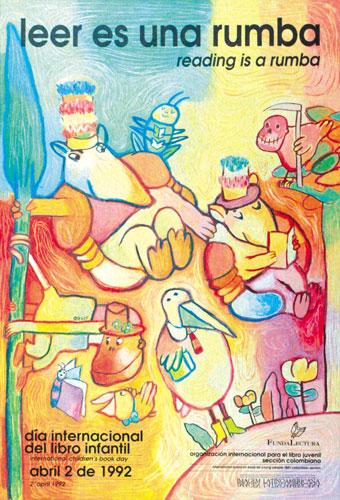 شعار و پیام روز جهانی کتاب کودک ۱۹۹۲/۱۳۷۱