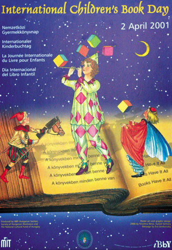 شعار و پیام روز جهانی کتاب کودک ۲۰۰۱/۱۳۸۰