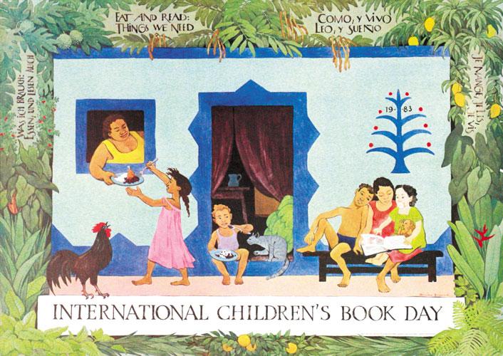 شعار و پیام روز جهانی کتاب کودک ۱۹۸۳/۱۳۶۲