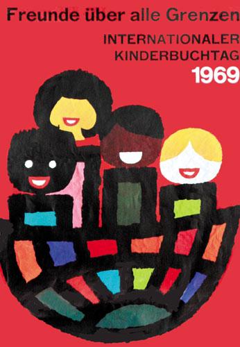 شعار و پیام روز جهانی کتاب کودک ۱۹۶۹/۱۳۴۸